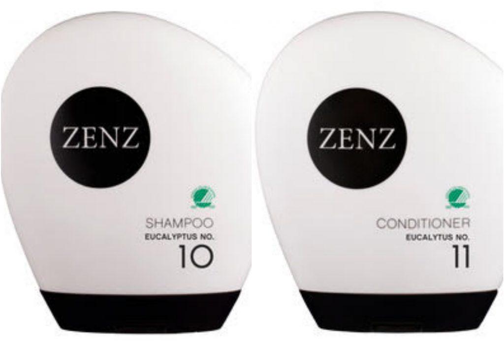 zenz eucalyptus shampoo conditioner