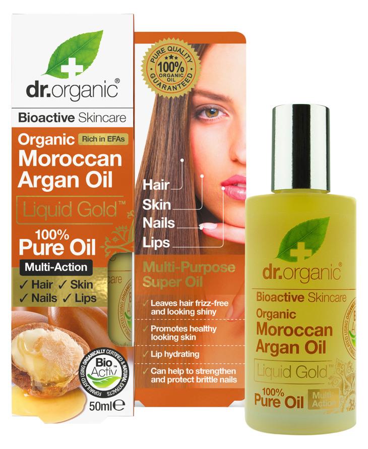 dr.organic - argan olie hår hårolie