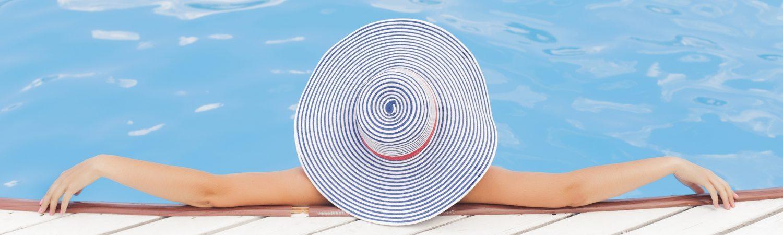 slappe af sommer hat pool ferie