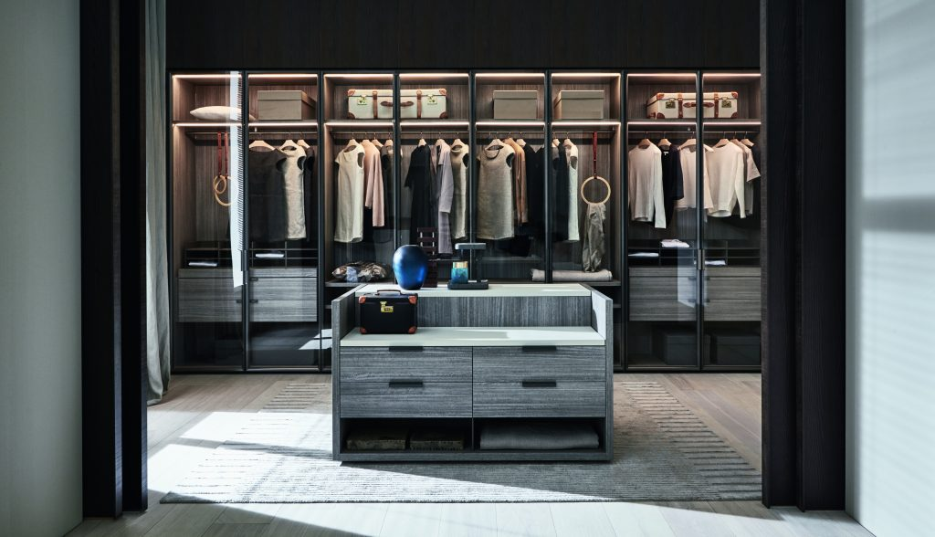 interstudio molteni&c garderobeskab italiensk design indretning