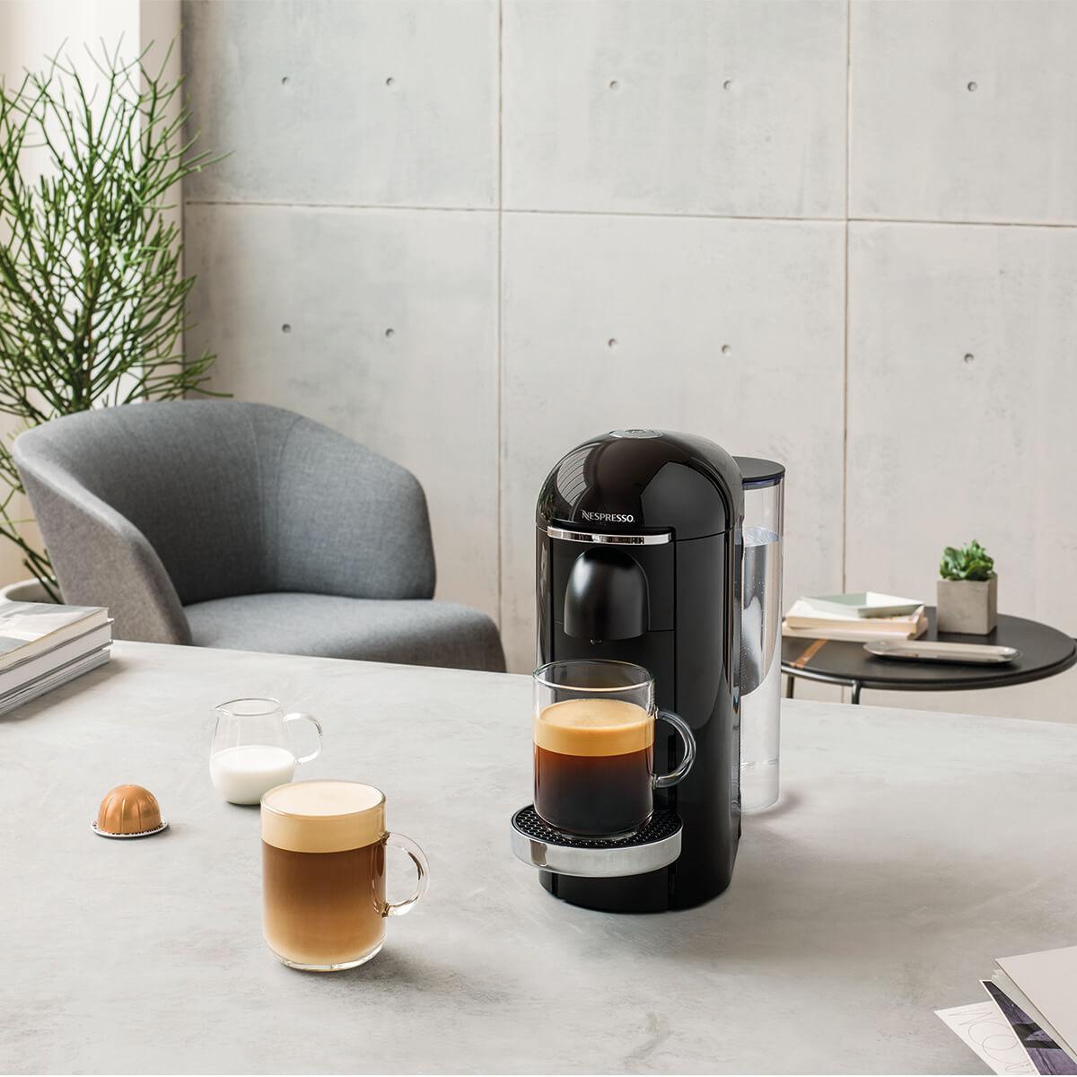 Nespresso byder nu på en stor kop kaffe