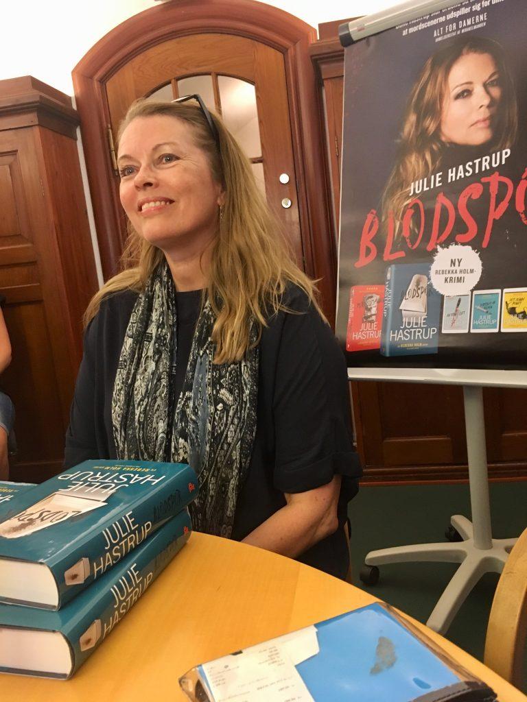 julie hastrup bog forfatter blodspor rebekka holm (Foto: MY DAILY SPACE)