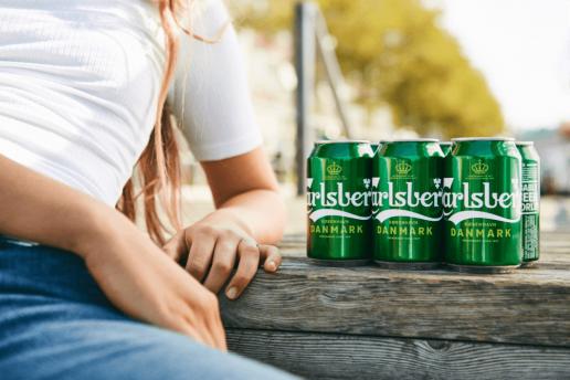Ny 6-pack sparer miljøet for 1200 tons plastik om året carlsberg øl beer alkohol