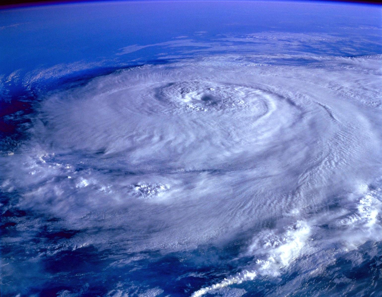 Storm orkan jorden