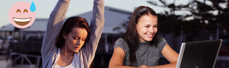 Sådan ser de to Rexona-pigers stil ud