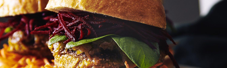 veggieburgers muusmann vegetar græskar (Foto: Søren Staun Petersen)