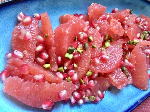rød grape frugtsalat granatæble (Foto: MY DAILY SPACE)