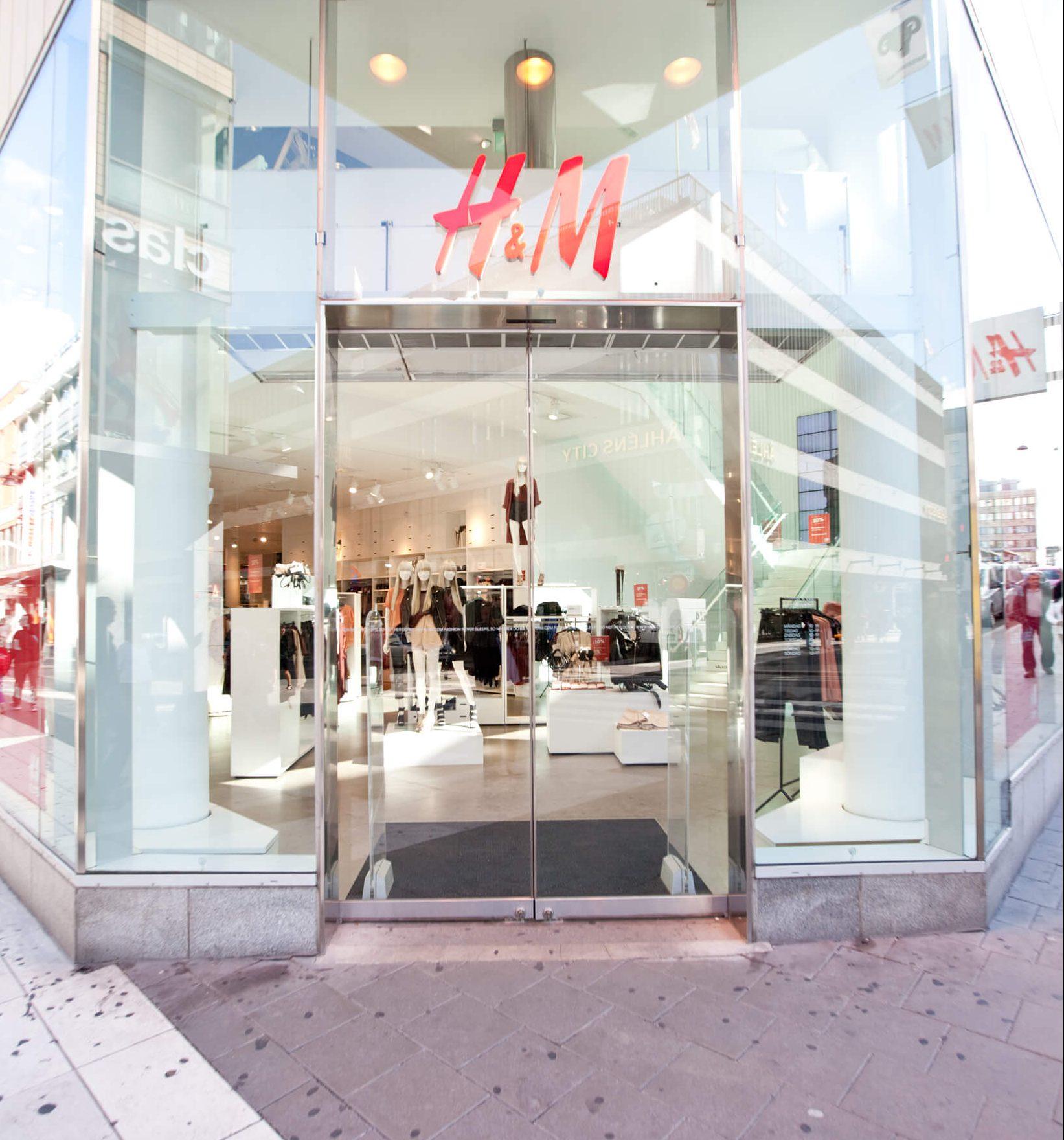 H&M vil reducere forbruget af poser