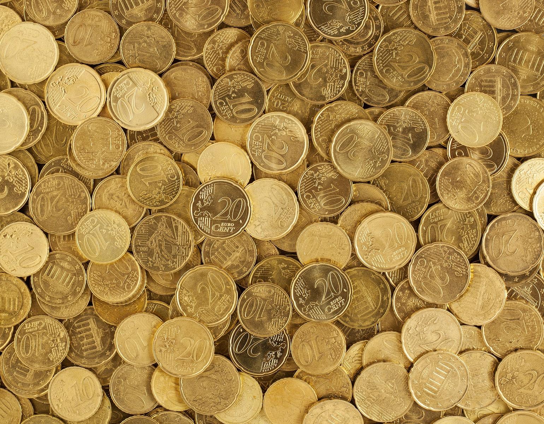 Euro penge