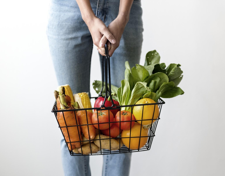 Vegan vegansk vegetar grøntsager mad food handle shopping spise mad middag