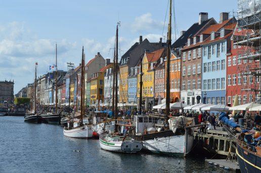 København Nyhavn Danmark Turist Rejse