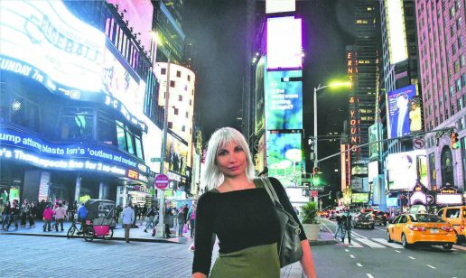 Selina Juul i New York
