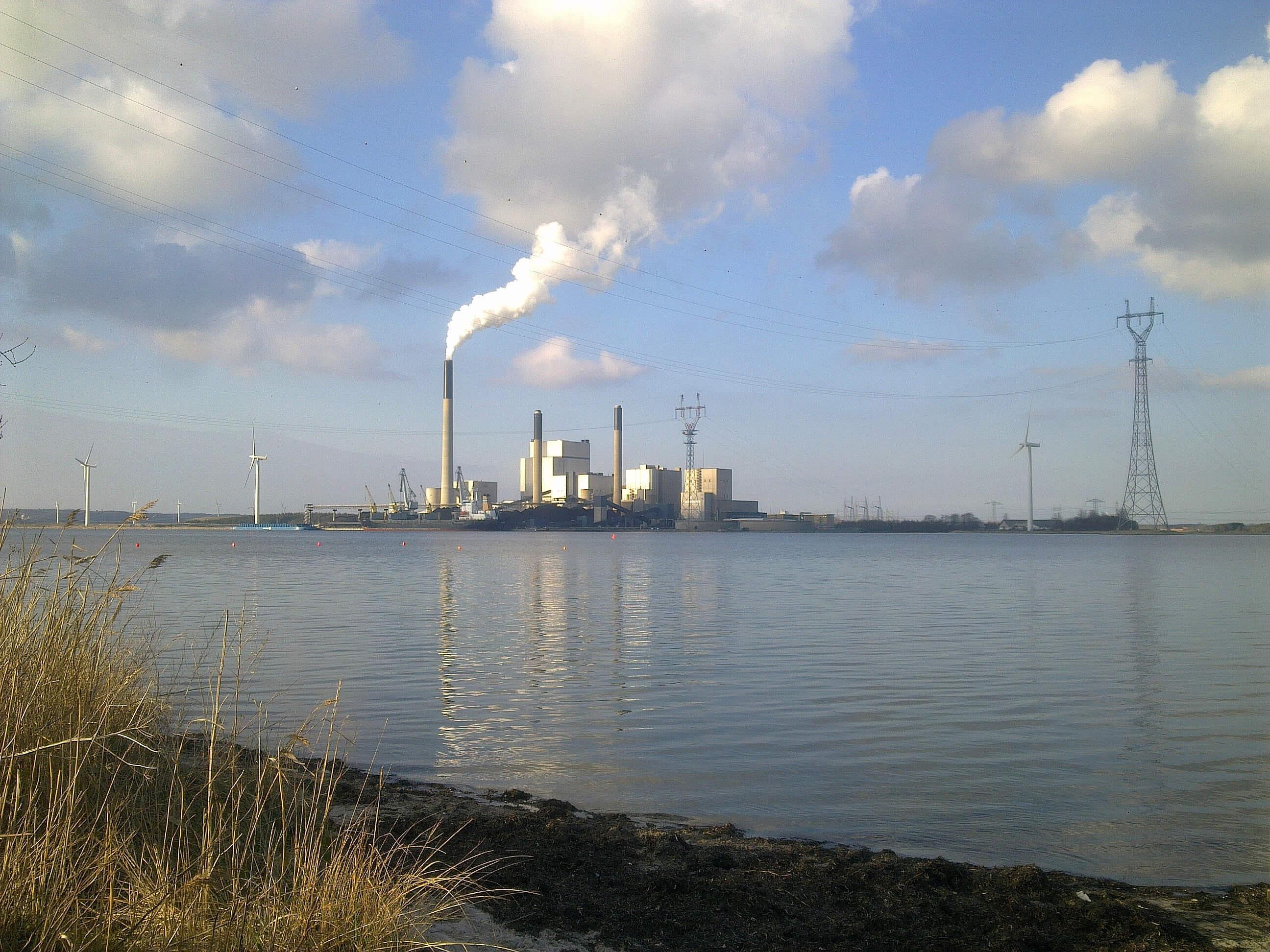 Kraftværk, forurening, co2, kul, strøm