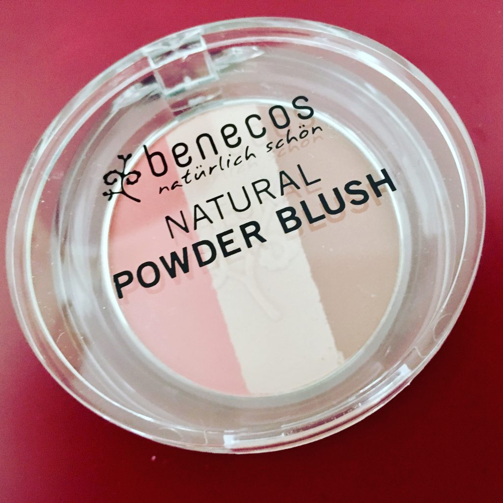 benecos blush powder økologiskk makeup