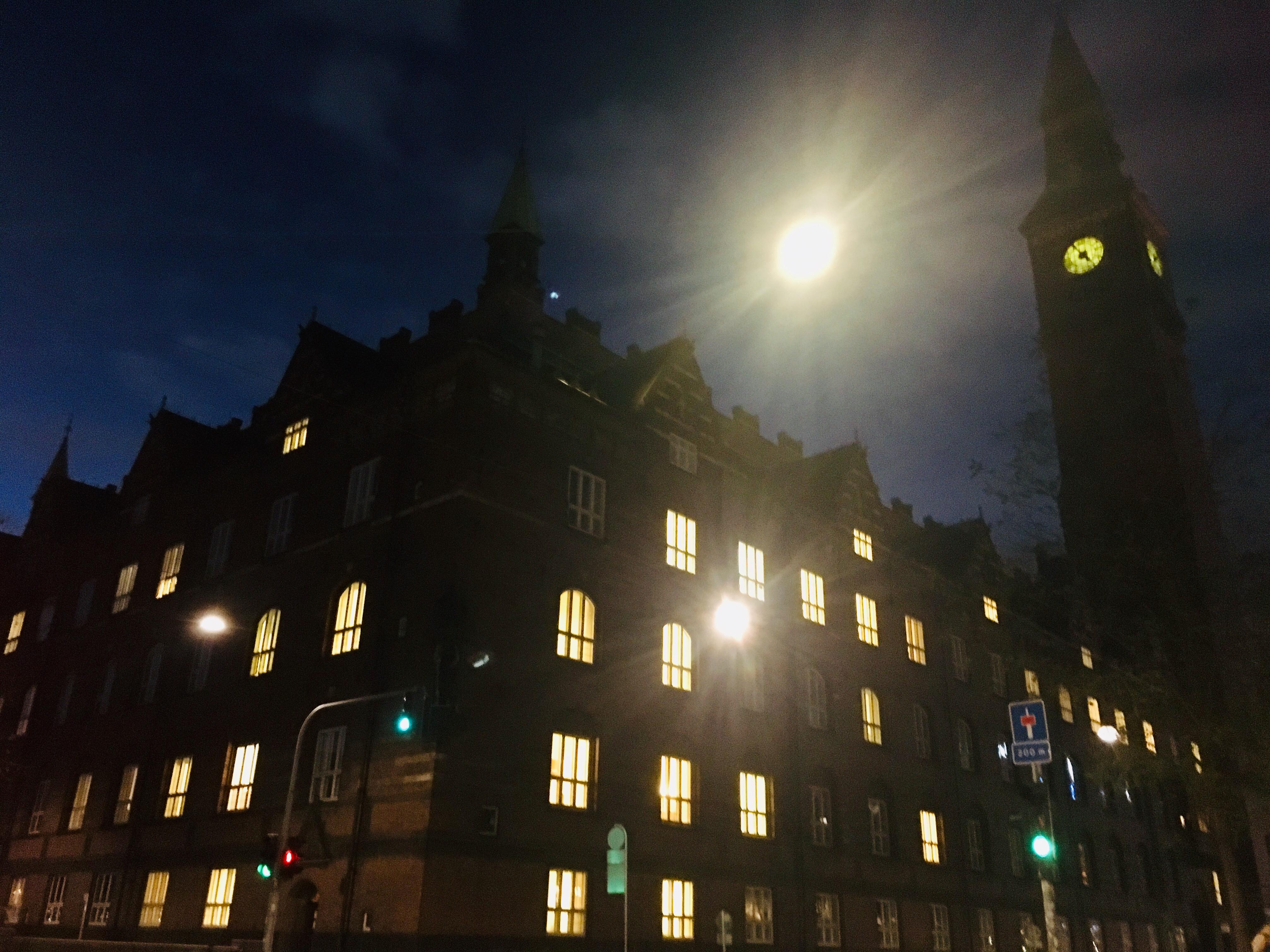 København natteliv nat mørke aften