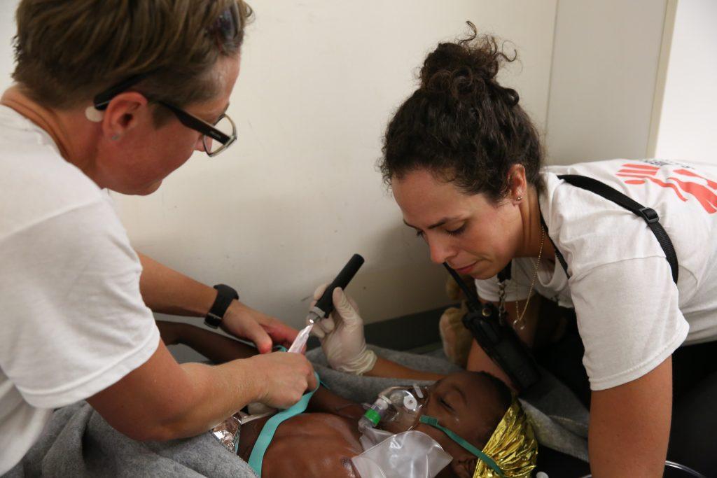 Kamma skaarup klumme læger uden grænser sygeplejerske (Foto: Mohammad Ghannam/Læger uden Grænser)