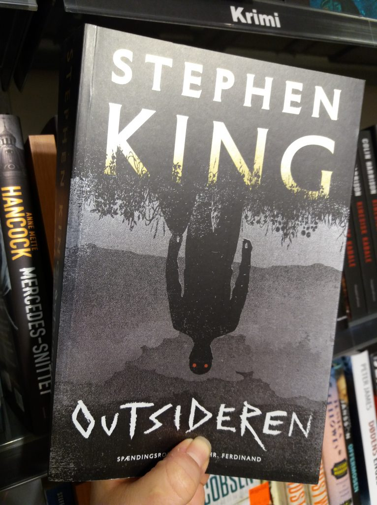 stephen king, outsideren, the outsider, outsider, politikens forlag, hr. ferdinand, books, bøger, bog, krimi, crime fiction, crime