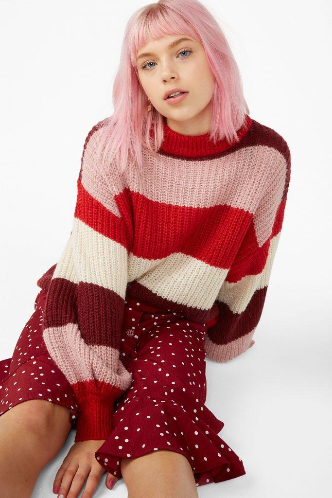 monki knit sweater