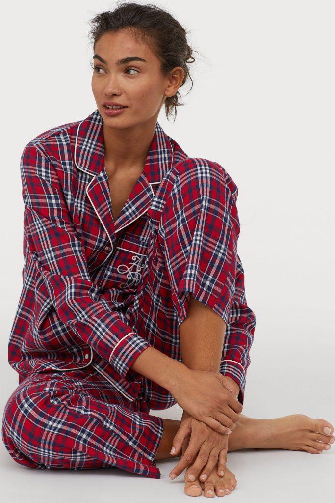 h&m pyjamas julegave