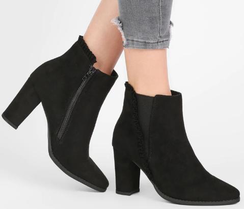 sko støvle mode støvletter