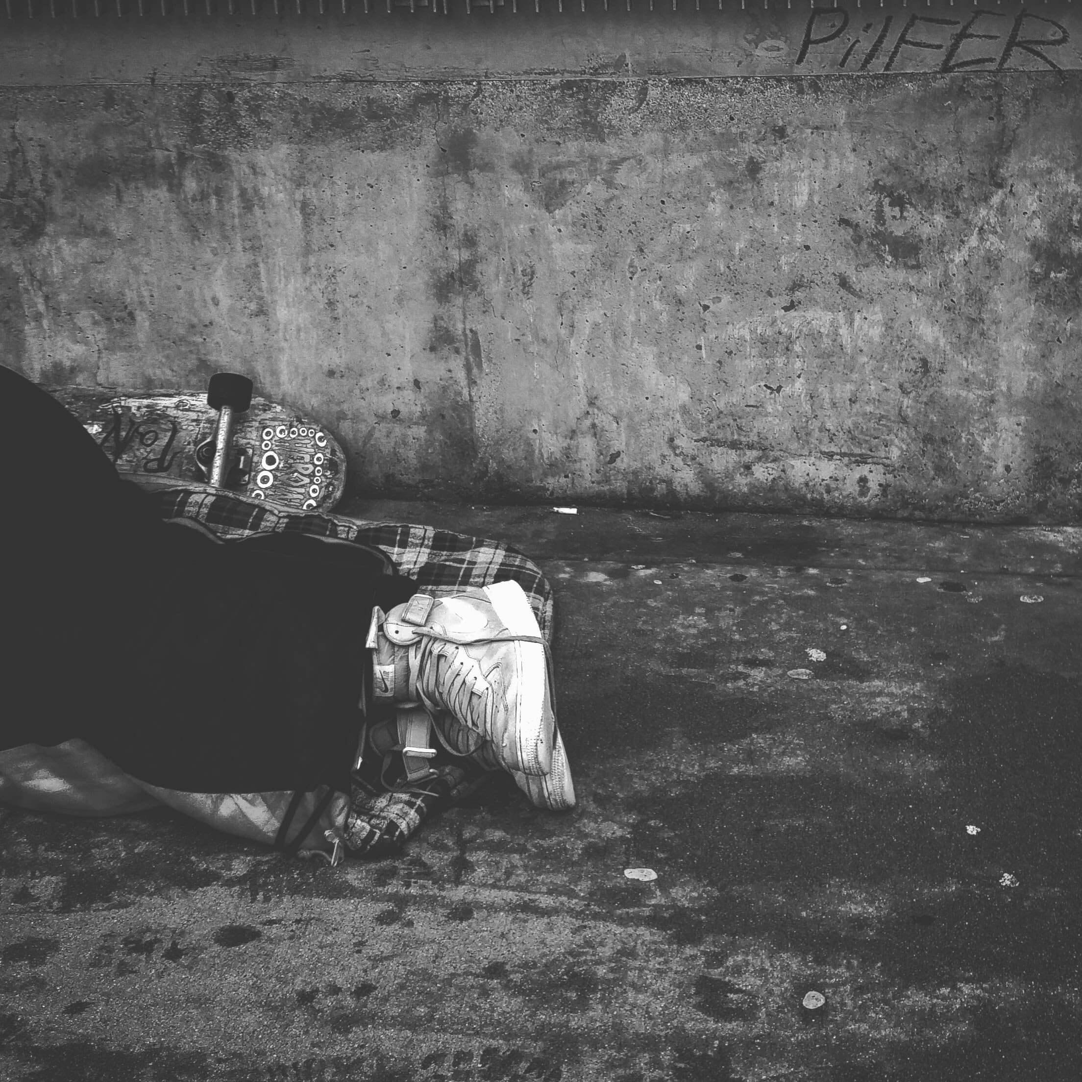 Hjemløs, fattig