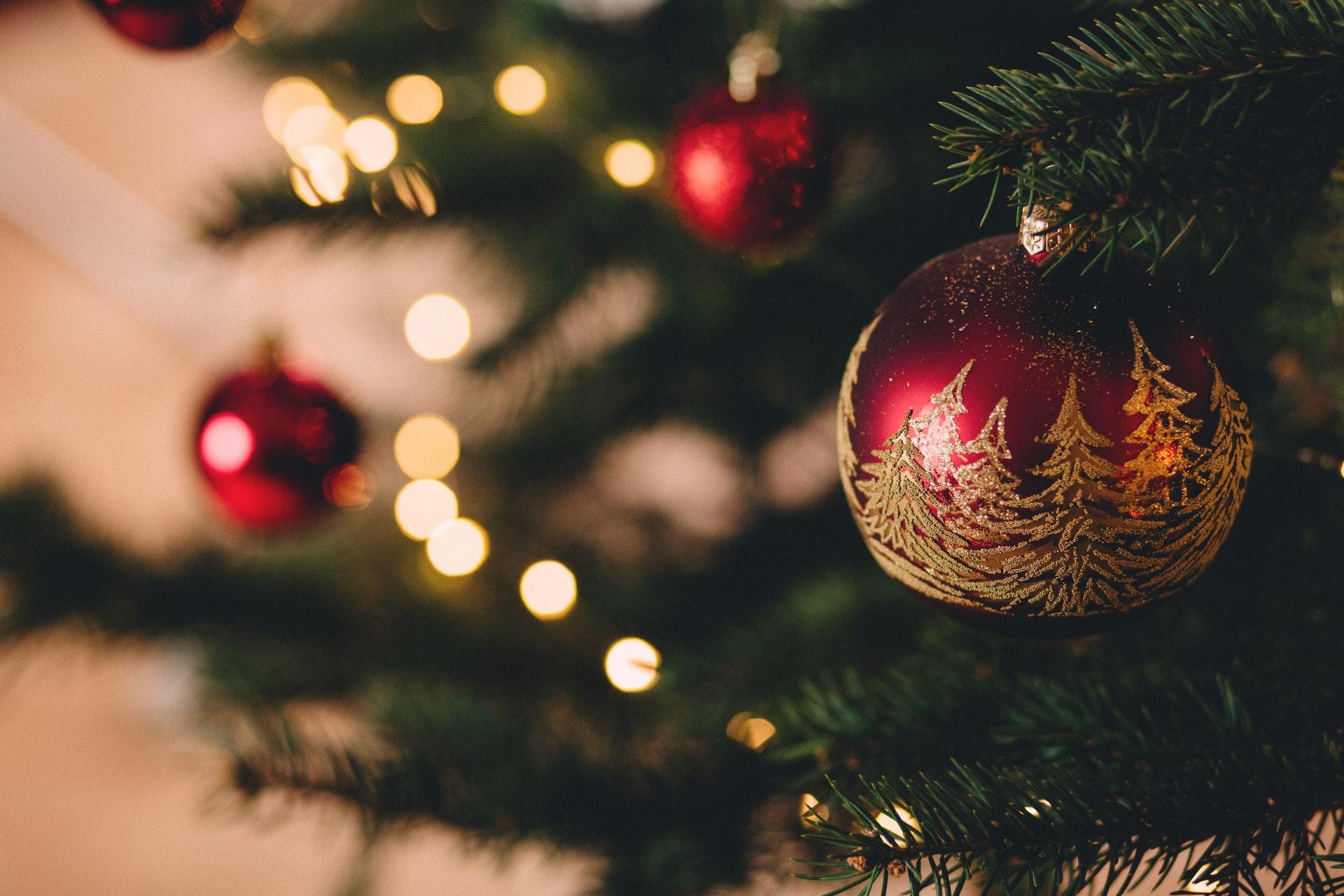 Jul, julepynt, juletræ, december