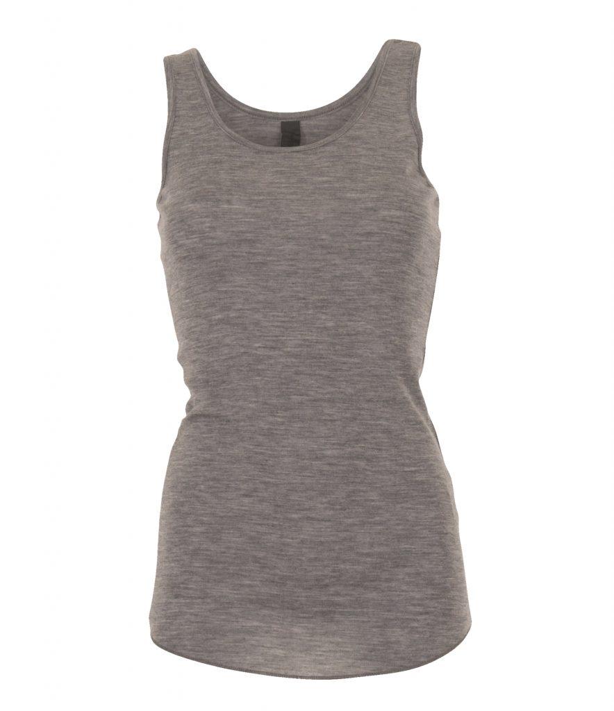 top tanktop grå undertrøje