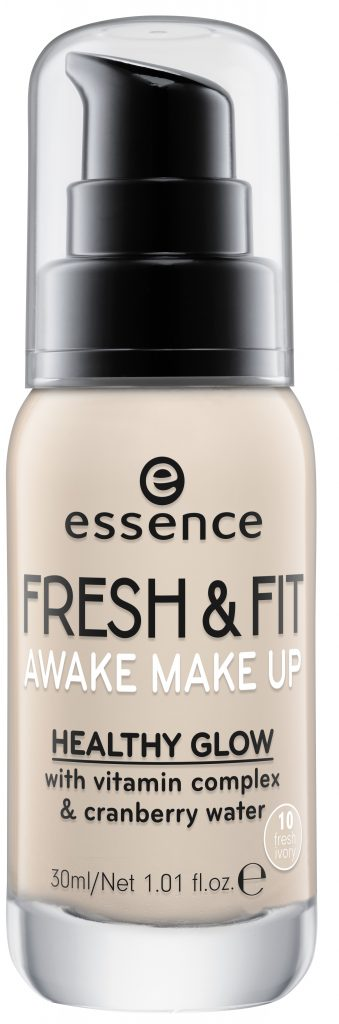foundation make up essence fresh & fit awake make up