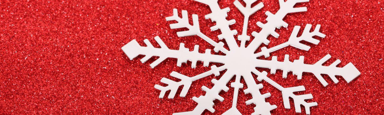 sne rød iskrystal jul hygge (Foto: Pxhere)