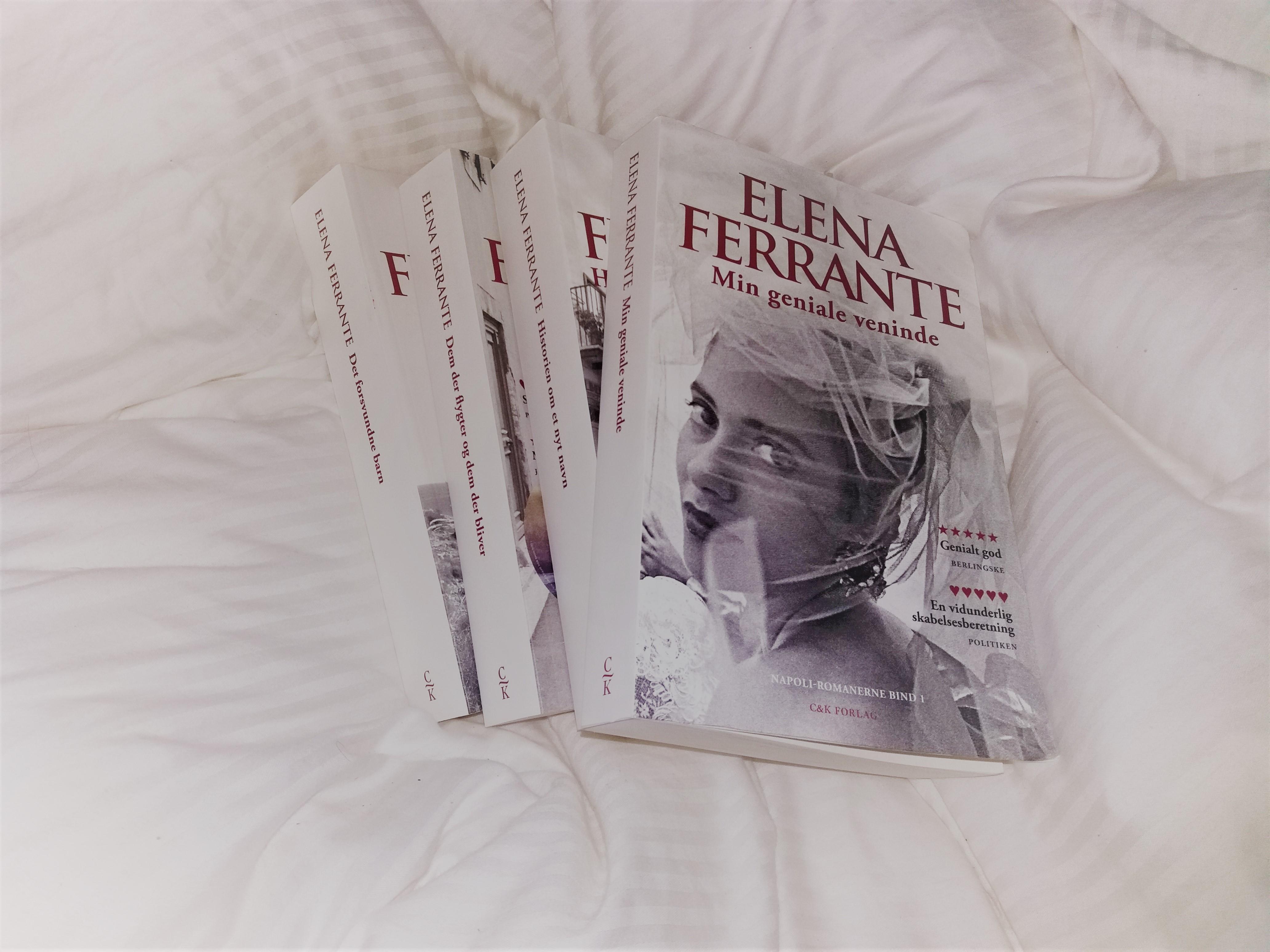 Elena Ferrante, C&K Forlag, Politikens Forlag, Napoli-romanerne, bog, bøger, books, dyne, candyfloss, egyptisk bomuld
