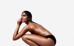 st. tropez self tan brun kvinde krop