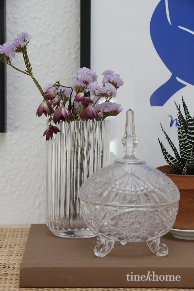 Forår, bolig, tørrede blomster