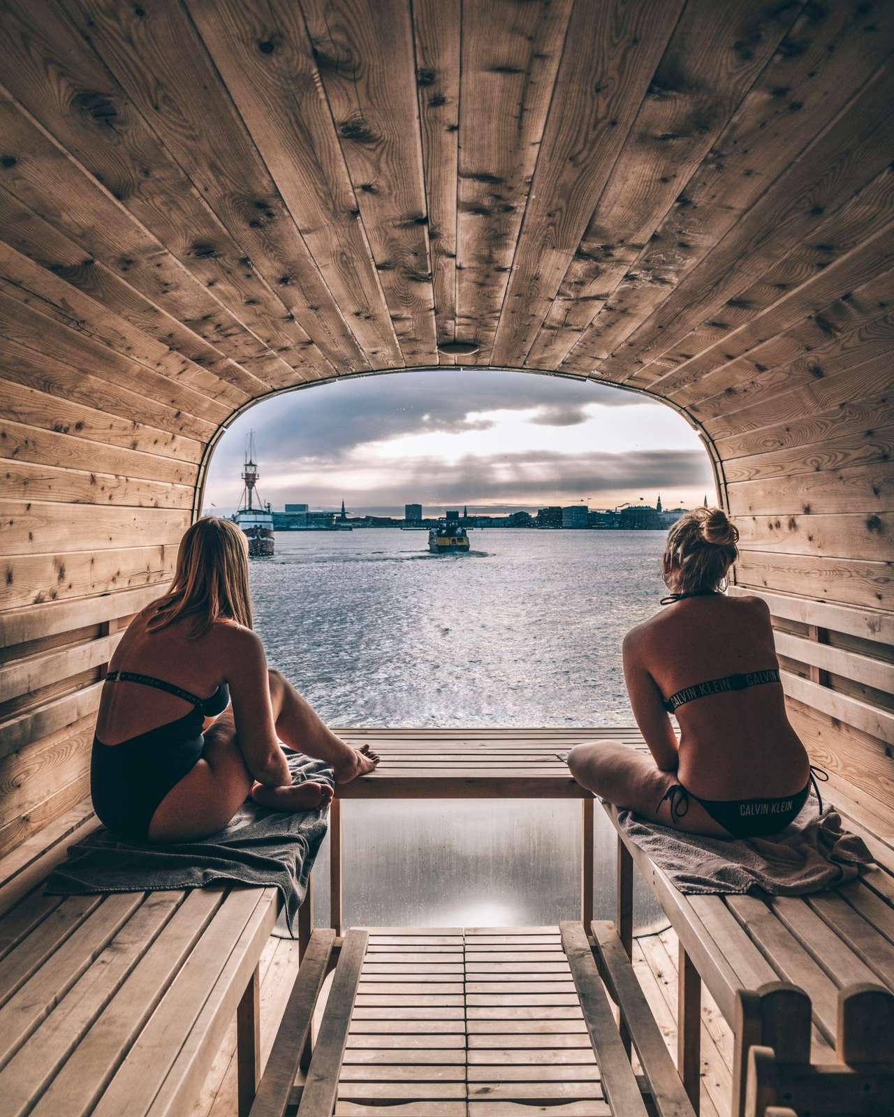 CopenHots, sauna
