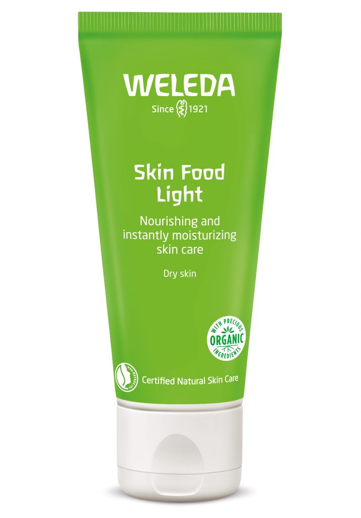 skin food light weleda hud