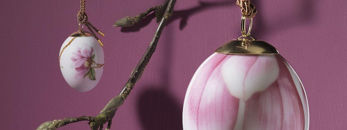 String Collection_Magnolia royal copenhagen æg påske