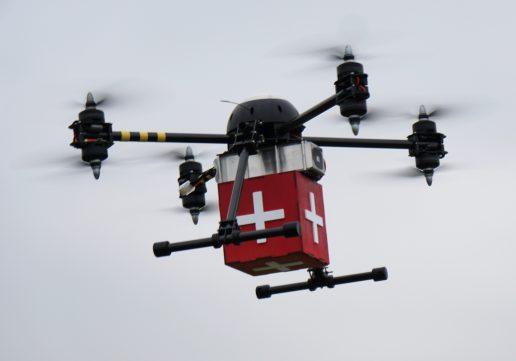 Drone, sundhedsdrone, læge, hospital
