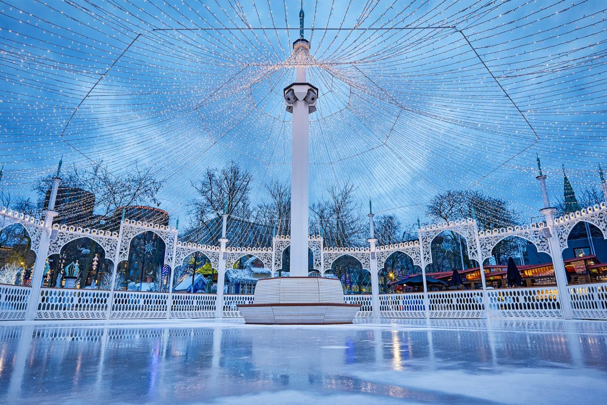 Tivoli, vinter, nimb, københavn