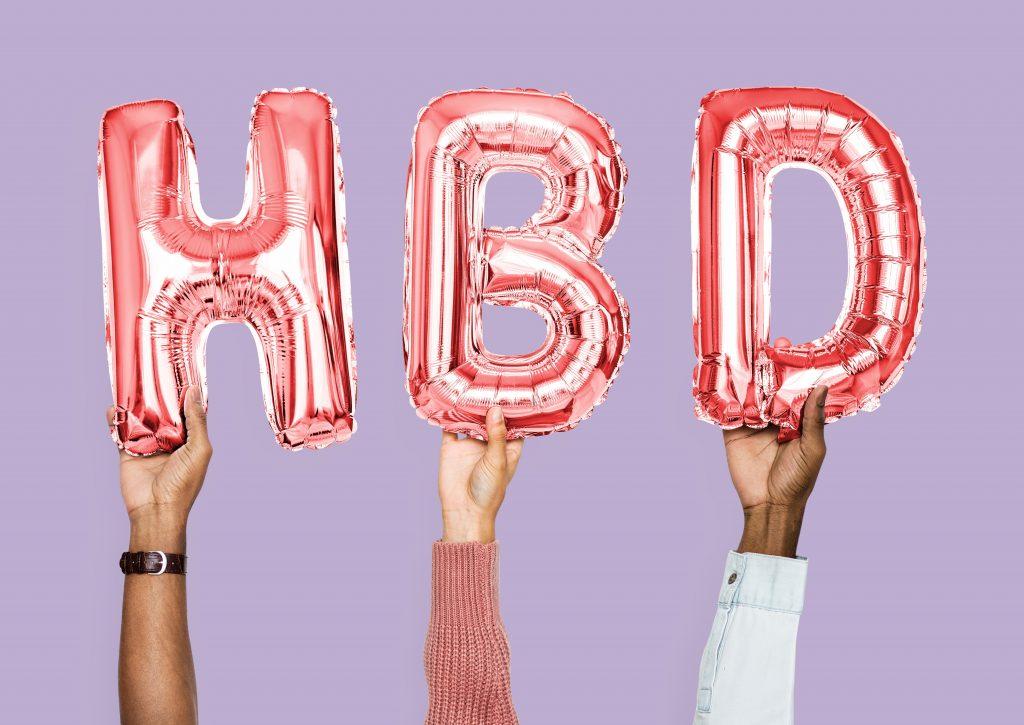 ballon fødselsdag invitation (Foto Pexels)