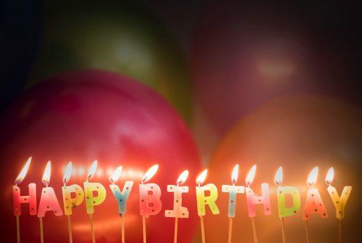 fødselsdag balloner happy birthday (Foto: Pexels)
