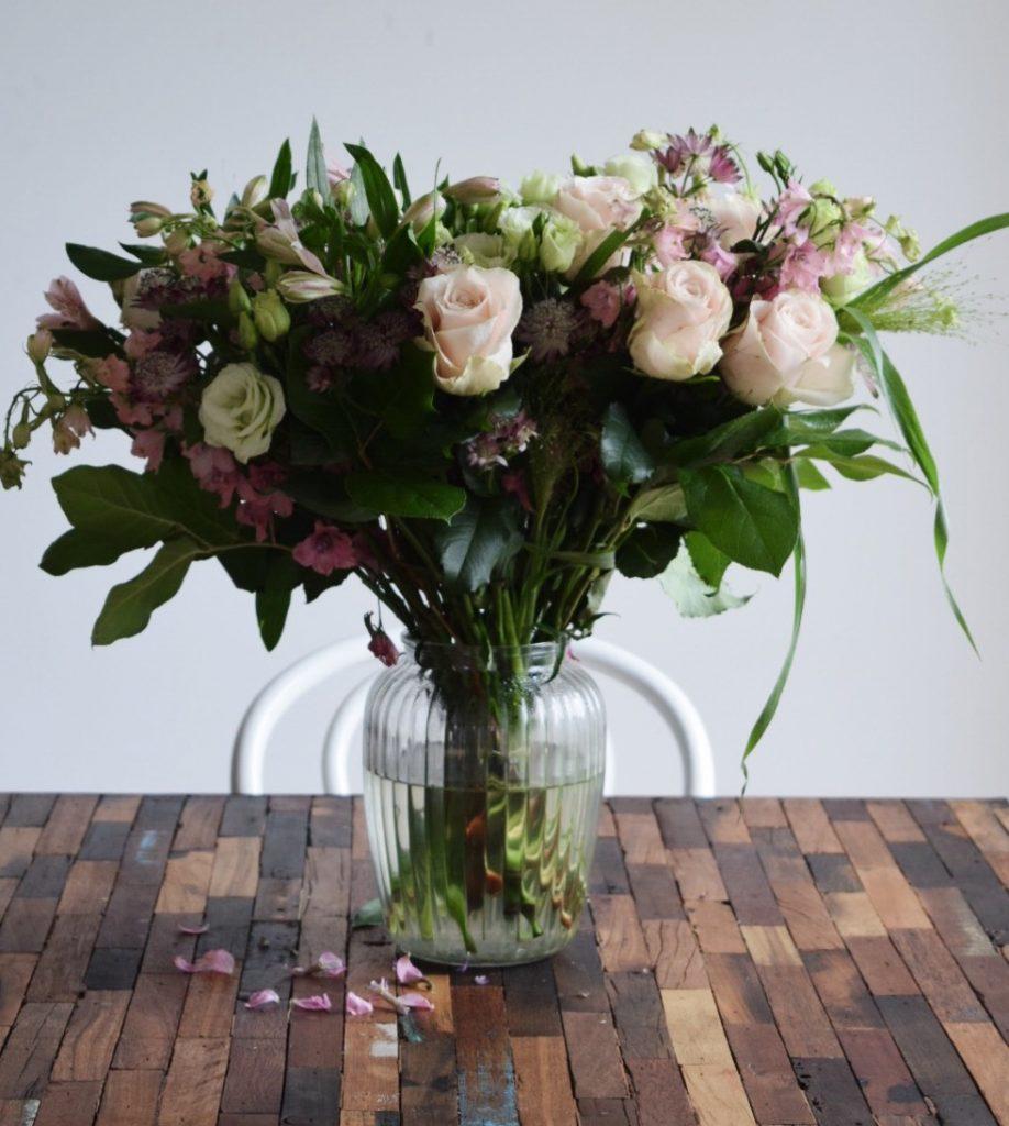 flowr_Romantisk blomsterbuket (Foto: PR)