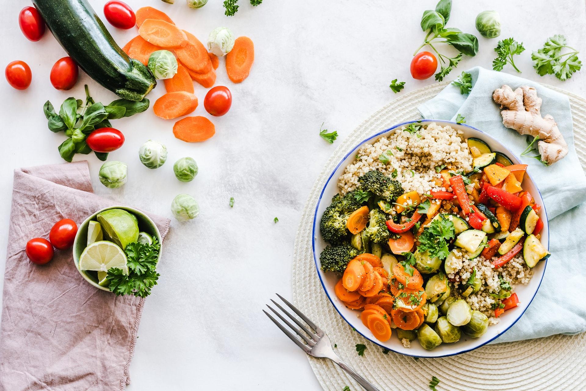 Mad, salat, sundt, sundhed, madspil, aftensmad, middag