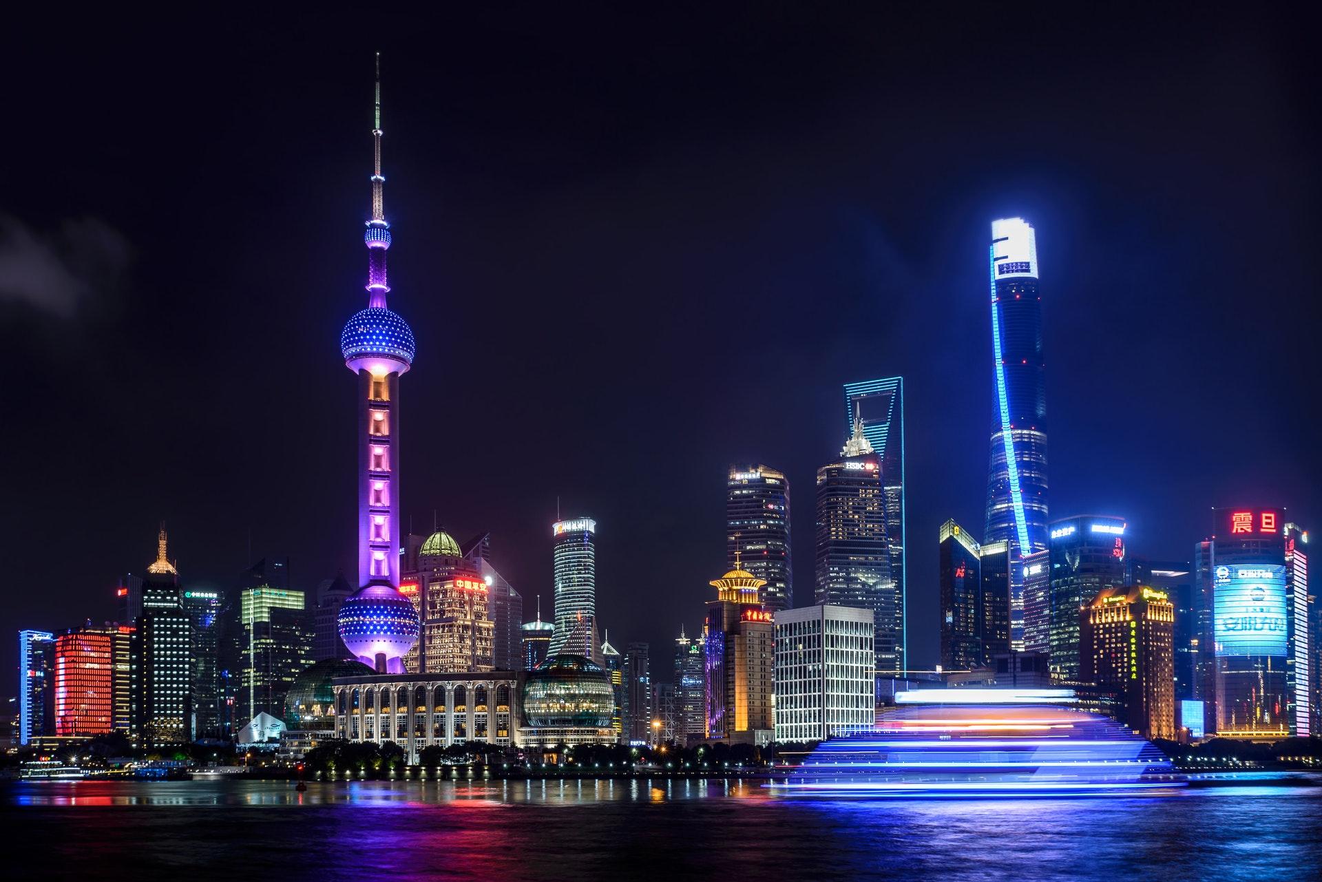 Kina, storby, by