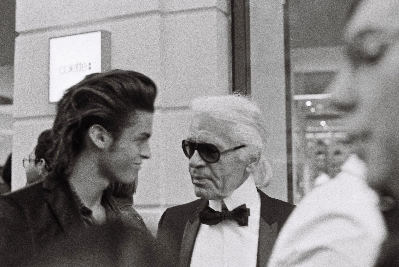 Karl Lagerfeld, Chanel, fashion, mode, design