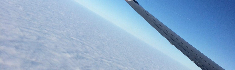 fly rejse norwegian himmel sky skyer (Foto: MY DAILY SPACE)