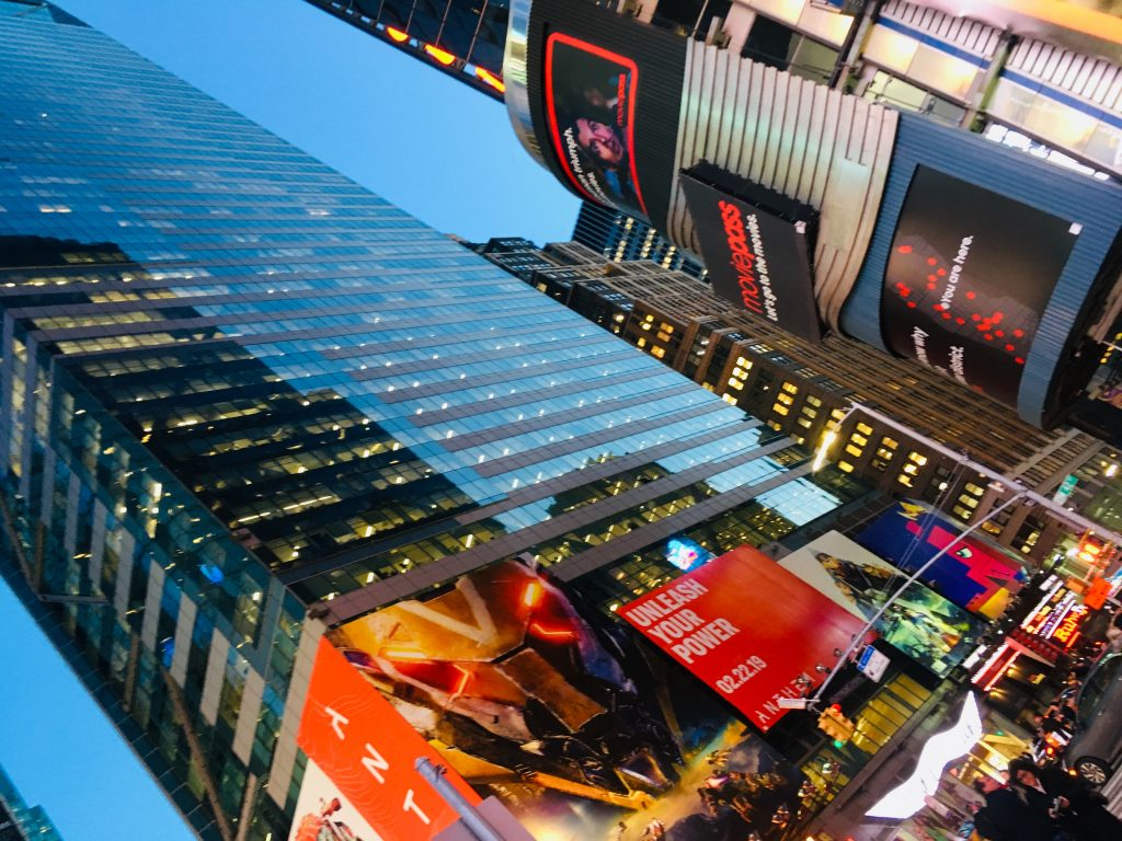 new york times square rejse usa manhatten skyskraber (Foto: MY DAILY SPACE)