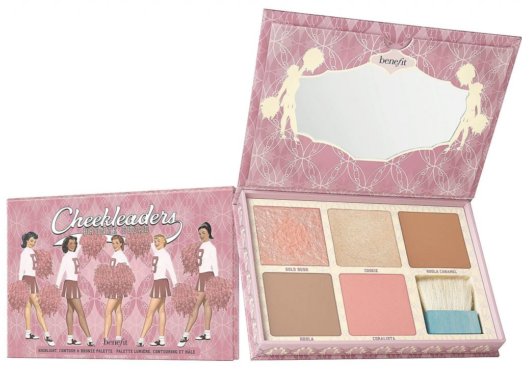 benefit cheek leaders benefint palette makeup