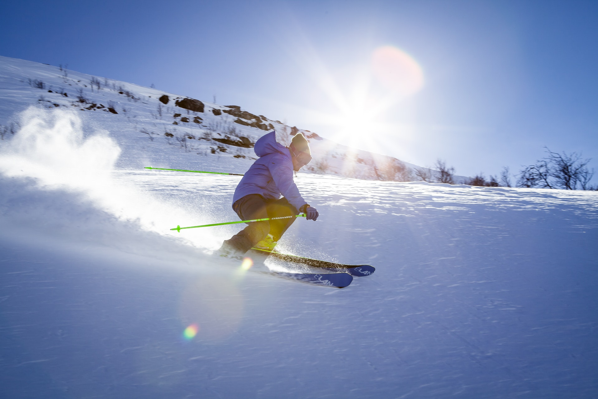 Skiferie, ski, vinter, vinterferie, sne, kulde, koldt, sol