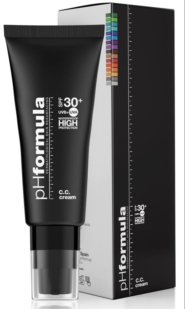 CC cream solcreme sol phformula