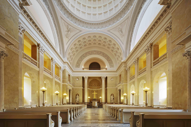 Påskeomvisning i Christiansborg Slotskirke.