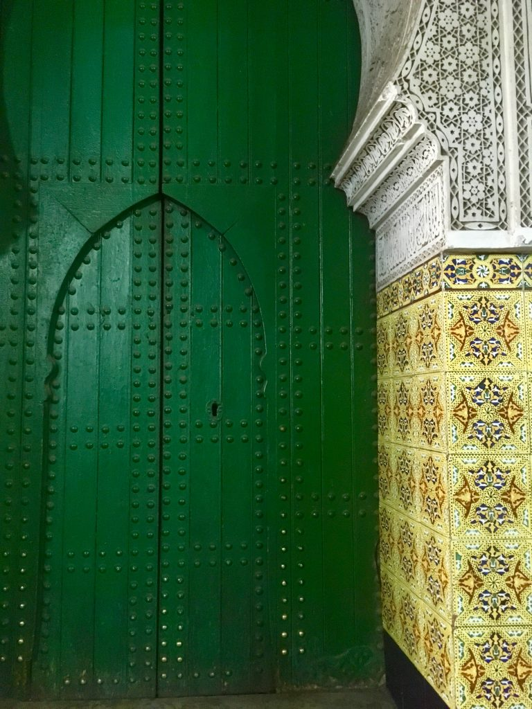 marrakech rejse farver afrika rejseguide riad dør mosaik (Foto: MY DAILY SPACE)
